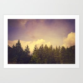 North Wilderness Art Print