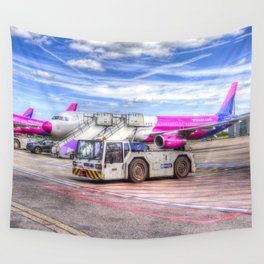 Wizz Air Aircraft Wall Tapestry