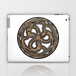 Bronze Medallion Laptop & iPad Skin