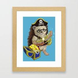 Pretty Pirate Lorelei Framed Art Print