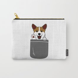 pocket dog Carry-All Pouch