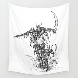 Anubis Wall Tapestry