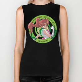 Sailor Jupiter - Crystal Intro Biker Tank