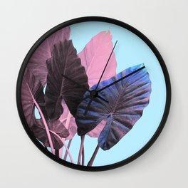 Candy Greenery Wall Clock