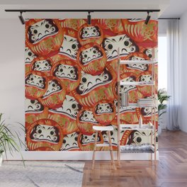 Japanese Good Luck Charm Wall Mural