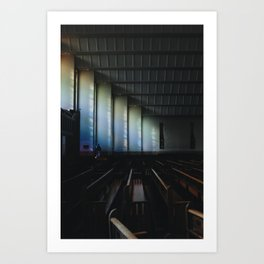 Christ the King Church Art Print