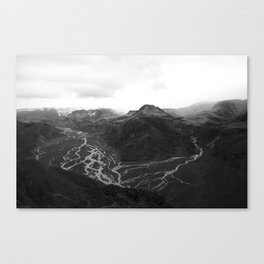 Iceland's Viens Canvas Print