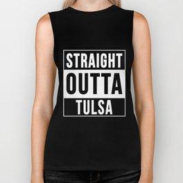 Straight Outta Tulsa Biker Tank