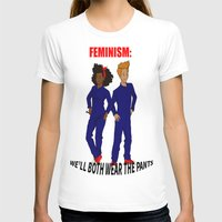 feminism T-shirts featuring feminism by nodoart
