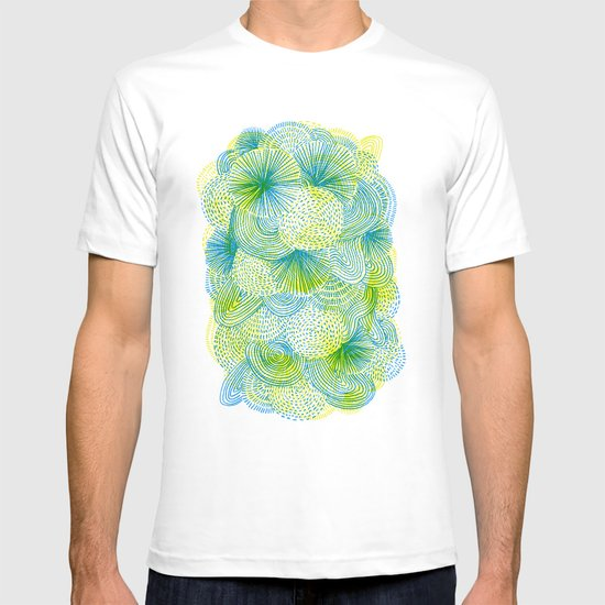 Space lime T-shirt
