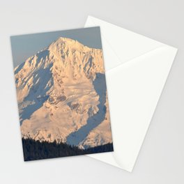 Twilight Over Mount Hood Stationery Cards