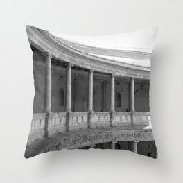 Light and shadow IV Throw Pillow