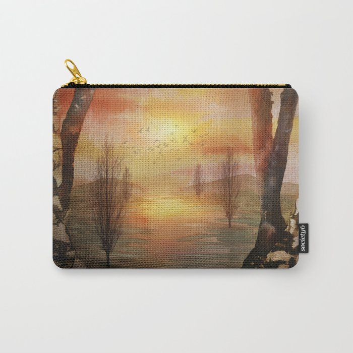 Calling The Sun XX Carry-All Pouch