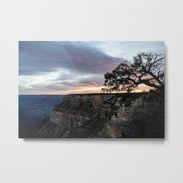 Sunrise Over the Grand Canyon Metal Print