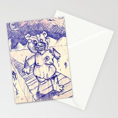 ZombieTeddy Stationery Cards