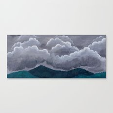 Mountain Rain Canvas Print