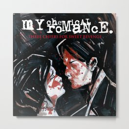 My Chemical Romance - Three Cheers for Sweet Revenge Metal Print
