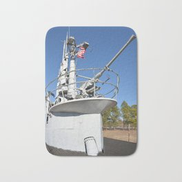 The USS Batfish SS-310 - On Deck at the Conning Tower Bath Mat