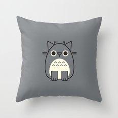 Your Neighbor Paws Throw Pillow