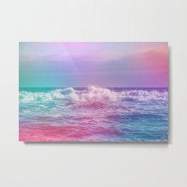 The Waves want your Loving Glances Metal Print