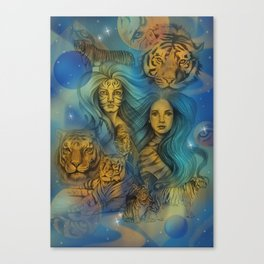 Fierce Universe Canvas Print