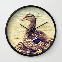 A Family Affair Wall Clock