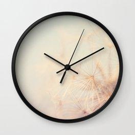 dandelion dreams .... Wall Clock