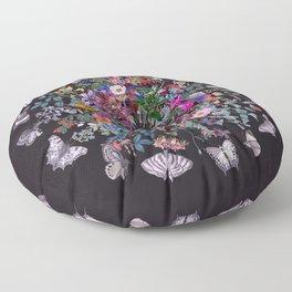 Butterfly Garden Floor Pillow