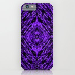 Purple Drift collage iPhone Case