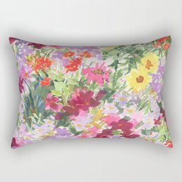 Grand Flora Rectangular Pillow
