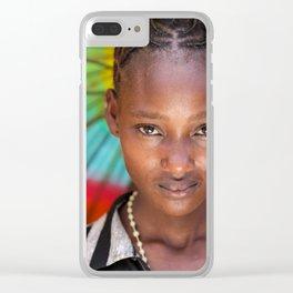 Rainy season Clear iPhone Case