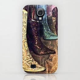 Sparkly Boots iPhone Case