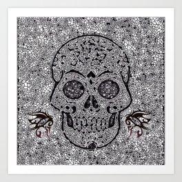 Mosaic Skull Kunstdrucke