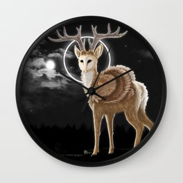The night is calling Wall Clock