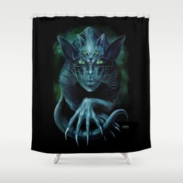 Cat People Shower Curtain