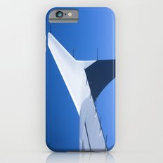 Airplane wing on a blue sky  iPhone 6s Slim Case