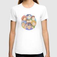 digimon T-shirts featuring Chosen Children by wattleseeds