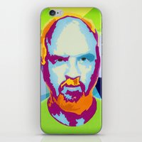 louis ck iPhone & iPod Skins featuring Louis CK by Danielle DePalma