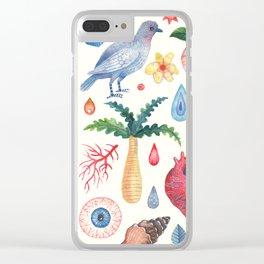 Tropical Dream Clear iPhone Case