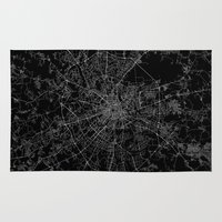 moscow Area & Throw Rugs featuring Moscow by Line Line Lines