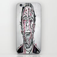 american psycho iPhone & iPod Skins featuring American Psycho  by pmaiti