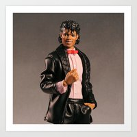michael jackson Art Prints featuring Jackson by 2coolstuff
