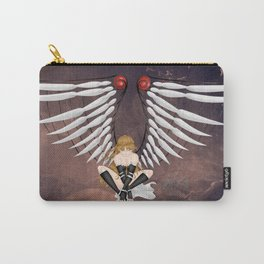 Rija With Wings Carry-All Pouch