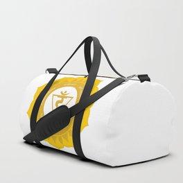 Solar Plexus Chakra #53 Duffle Bag