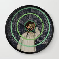 sisters Wall Clocks featuring Sisters by Canson City