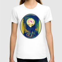 industrial T-shirts featuring Industrial Bloom by JosephusBartin