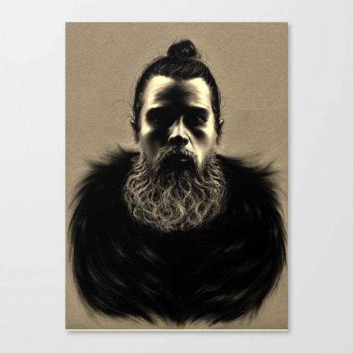Wolf Man Canvas Print
