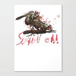 Squash em! Canvas Print