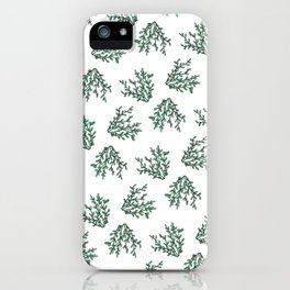 White berry plant iPhone Case