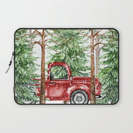 Woodland Snow Laptop Sleeve